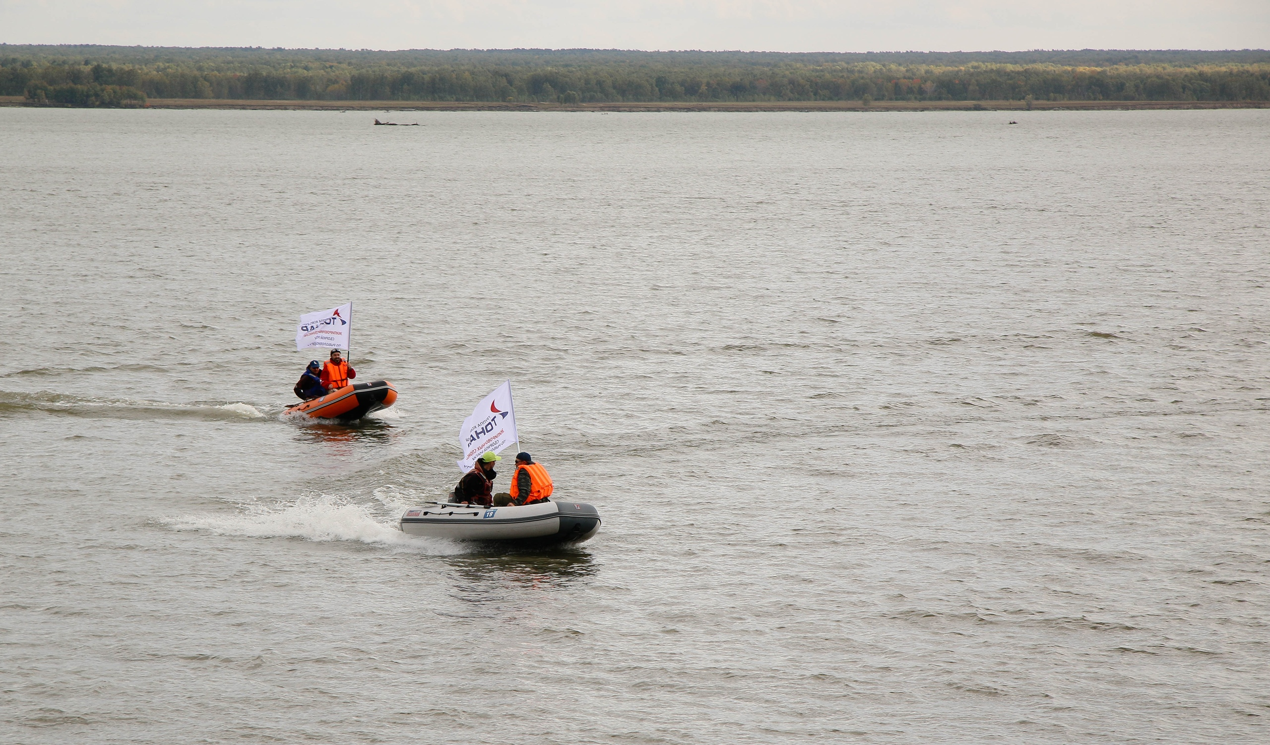 Тест-драйв лодок АЛТАЙ (ТОНАР)