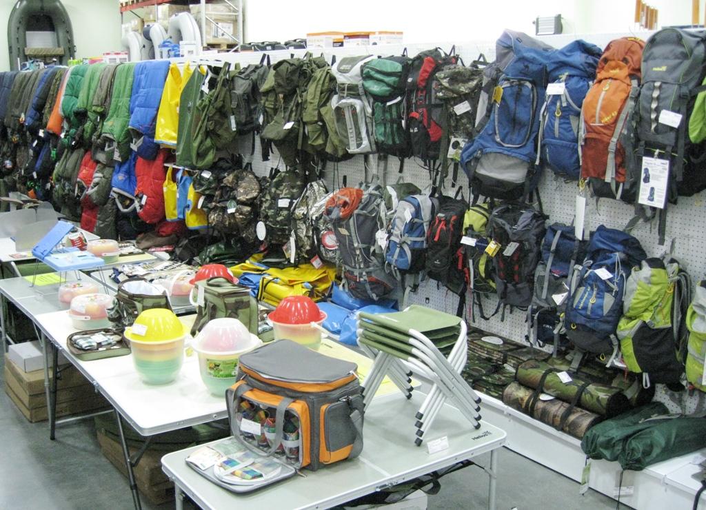 оптовые поставки товаров для отдыха и рыбалки