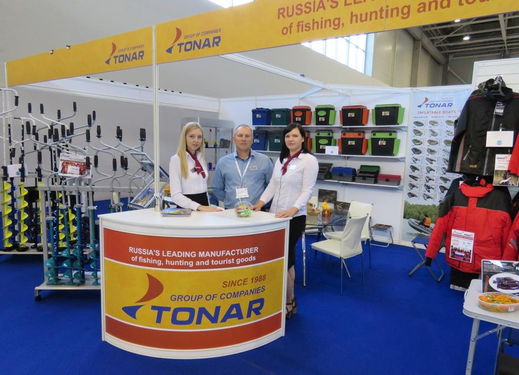 Стенд Группы компаний ТОНАР на выставке EFTTEX 2017