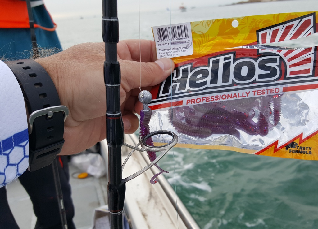 Приманки Helios отлично работают в соленой морской воде