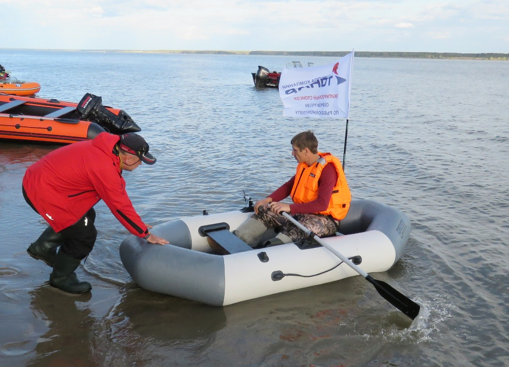 Лодка БРИЗ А260 - конкурс на скоростное управление лодкой